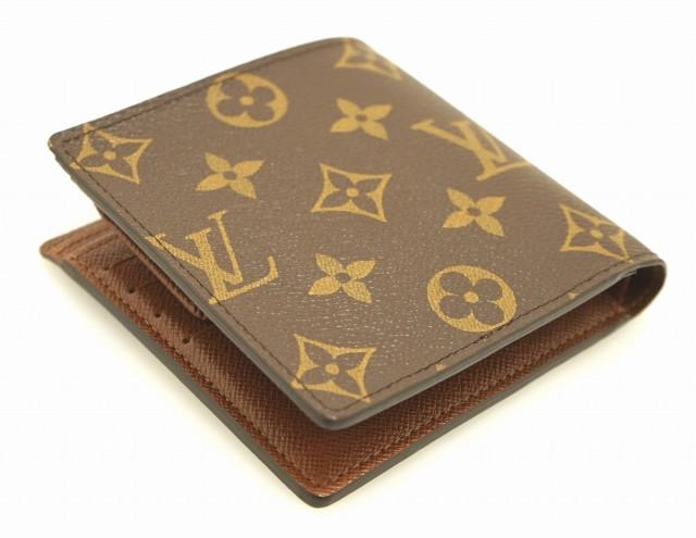 【財布】 ルイ ヴィトン モノグラム ポルトフォイユ マルコ 2つ折財布 M61675