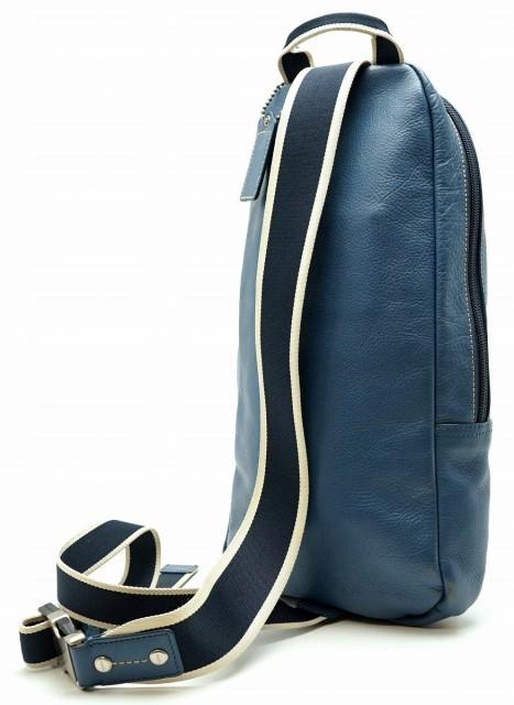 【バッグ】 コーチ スリングバッグ メンズ レザー ワンショルダー 斜め掛けショルダー ボディバッグ ブルー 青 ホワイト 白 F70811