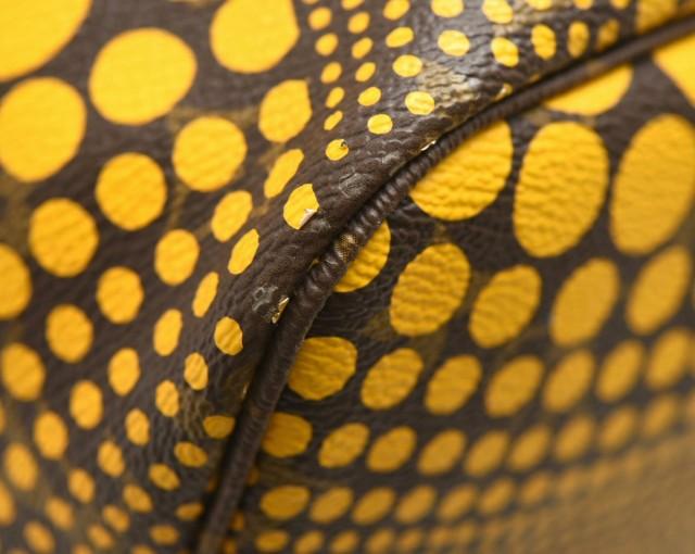 【バッグ】 ルイ ヴィトン モノグラム ネヴァーフルMM 草間彌生コラボ パンプキンドット トートバッグ ショルダーバッグ M40685