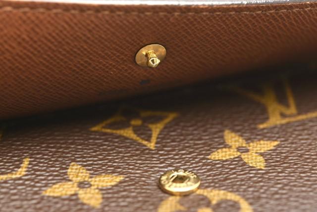 【財布】 ルイ ヴィトン モノグラム ポルトトレゾール インターナショナル 3つ折長財布 M61215