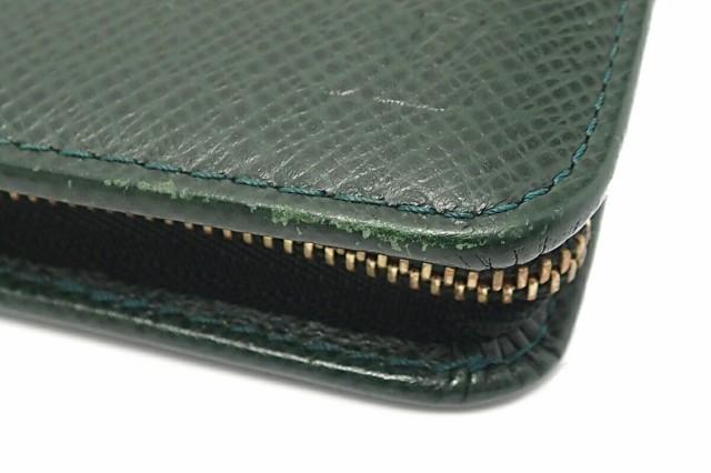 【財布】 ルイ ヴィトン タイガ ポルト ビエ モネ ジップ ラウンドファスナー 2つ折財布 エピセア ダークグリーン M30674