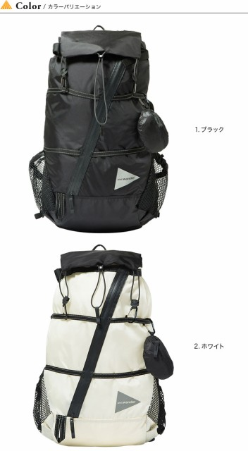 0f6b3ee8aa2d アンドワンダー 40L バックパック and wander 40L backpack バックパック リュック リュックサック ザック <
