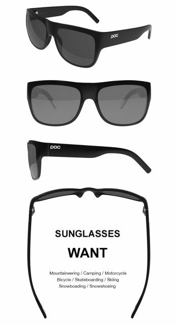 POC ポック WANT ウォント サングラス メガネ 眼鏡 ゴーグル スキー スノーボード ツーリング デイリー おしゃれ メンズ イリジウムレンズ カールツァイス Carl Zeiss ブラック グリーン ネイビー