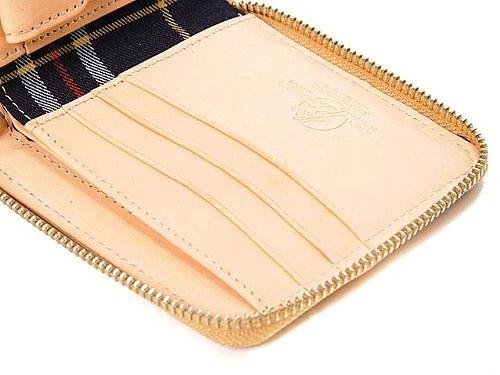 高品質 日本製 ブライドルレザー 牛革 本革 メンズ ブランド 財布 プレゼント にも最適 HAVIE&HUDOSON(ハービー&ハドソン) 短財布 ベー