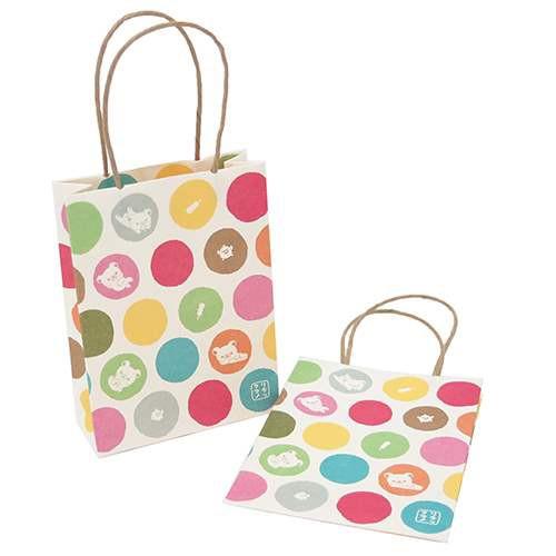リラックマ[ミニ紙袋]和紙ミニ手提げ紙袋 2個入り/いろどり サンエックス【メール便可】