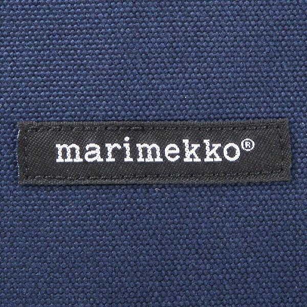 【あす着】マリメッコ トートバッグ レディース MARIMEKKO 40864 2 UUSI MINI MATKURI ミニマツクリ トートバッグ ネイビー