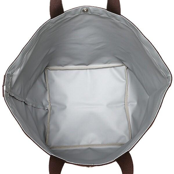 【あす着】エルベシャプリエ バッグ レディース Herve Chapelier 725C 5169 CORDURA L TOTE BAG トートバッグ TARAMA/MOKA