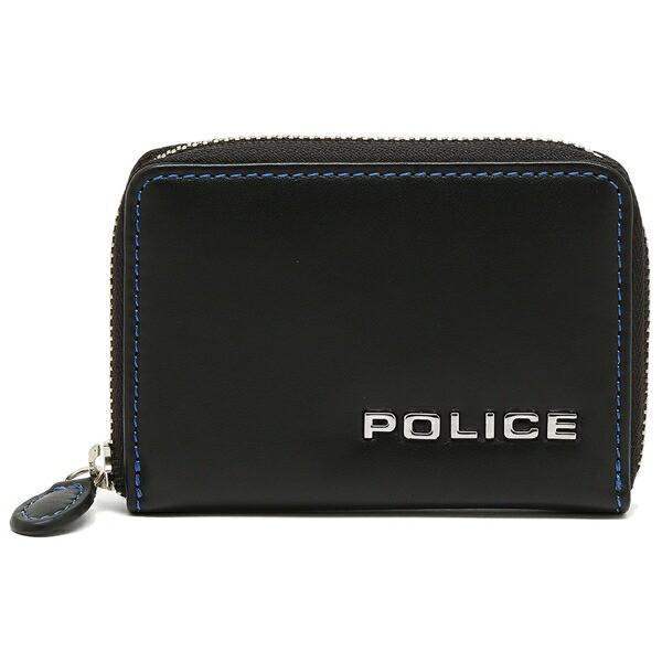 【あす着】ポリス メンズ コインケース POLICE PLC135 ブラック