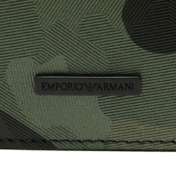 【あす着】エンポリオアルマーニ 長財布 メンズ EMPORIO ARMANI YEM474 YCF6V 80004 グリーン