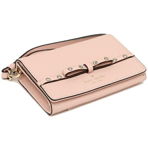 【あす着】ケイトスペード カードケース レディース KATE SPADE PWRU5956 265 ピンク