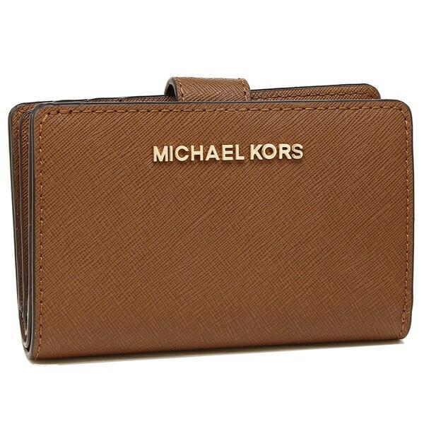 【あす着】マイケルコース 財布 アウトレット MICHAEL KORS 35F7GTVF2L JET SET TRAVEL WALLET レディース 二つ折り財布 無地