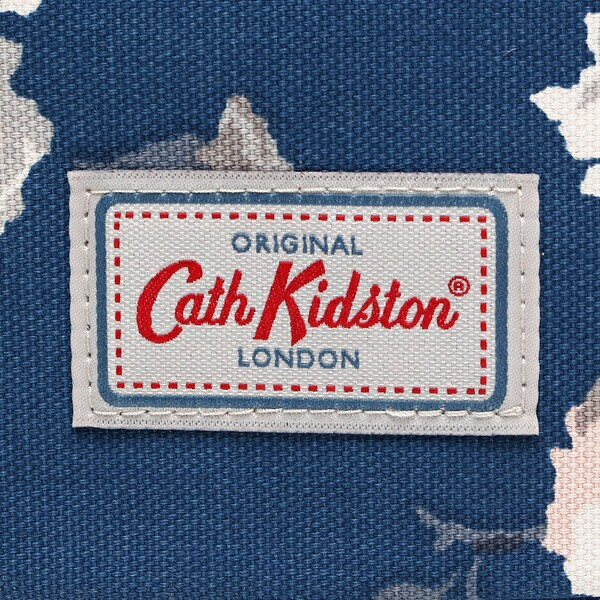 【あす着】キャスキッドソン トートバッグ ショルダーバッグ レディース CATH KIDSTON 755795 ネイビー/グレー