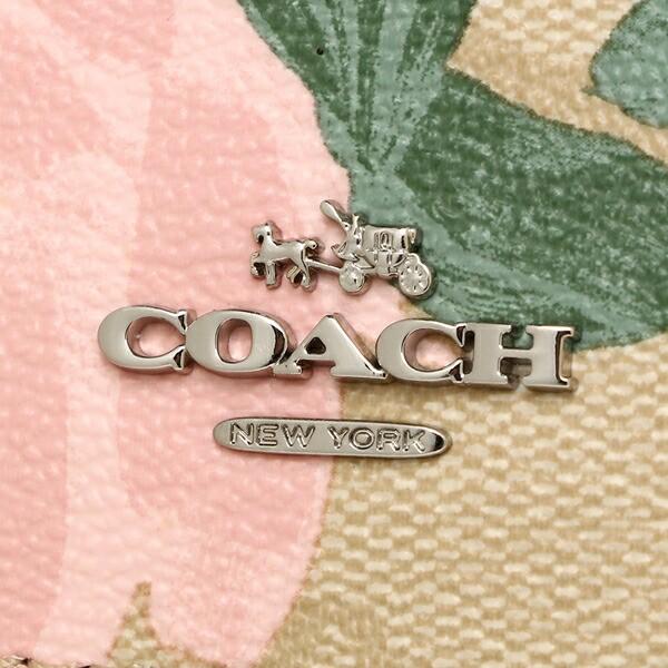 【あす着】コーチ 折財布 アウトレット レディース COACH F25930 SVBT0 ライトカーキブラッシュマルチ