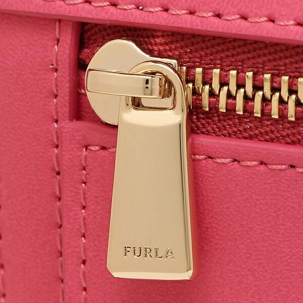 【あす着】フルラ 二つ折財布 レディース FURLA 921907 PU28 UTW ピンク