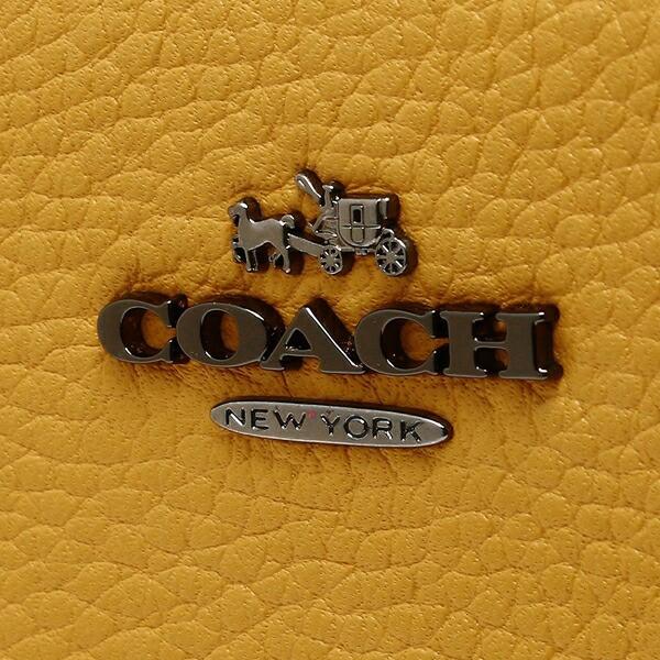【あす着】コーチ 長財布 レディース COACH 58059 DKEBV イエロー