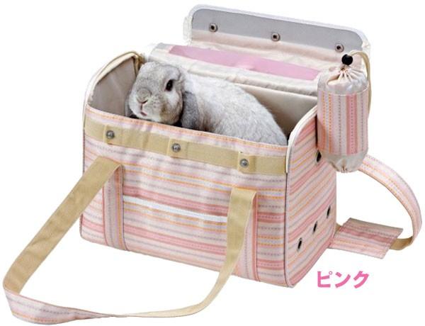 ▼【送料無料】うさぎのおでかけバッグ L ピンク 【LP】【TC】