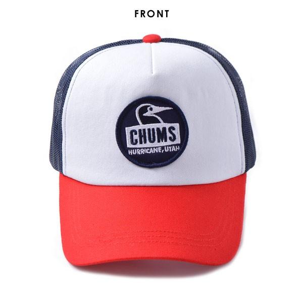 CHUMS チャムス Boody Face Mesh Cap キャップ 帽子 メンズ レディース ユニセックス ロゴ メッシュ ポップ カラフル cap アジャスタブル