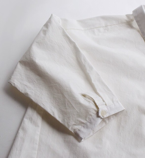 zootie|シャツ【メール便可20】ブラウス 長袖 ゆったり 大きめ カレシャツ ロングシャツ 春夏/ドロップショルダー オーバーシャツ