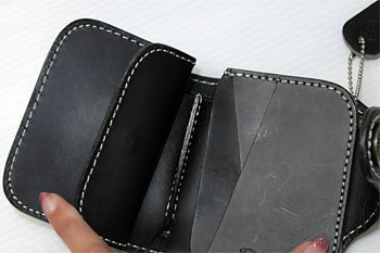 UPPER WEST LEATHER & CLOTH WALLET UWT-148