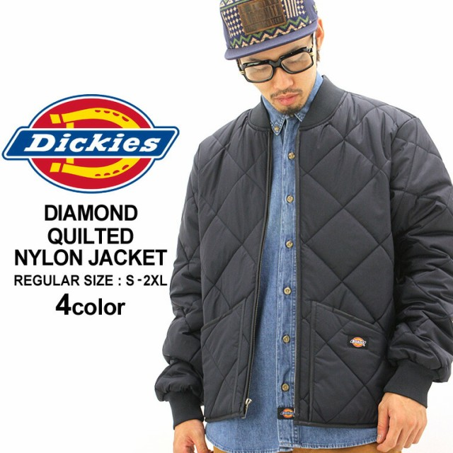 ディッキーズDickiesジャケットメンズキルティングジャケットナイロンジャケットジャケットアウターメンズ大きいサイズ防寒DICKIESディッキーズXLXXL2XLLL2L3L