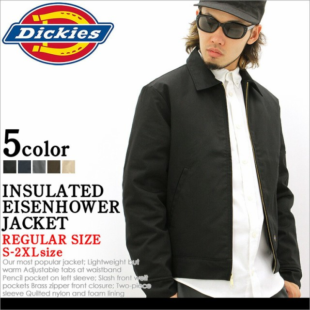 Dickies ディッキーズ ジャケット メンズ アイゼンハワージャケット ワークジャケット アメカジ 大きいサイズ