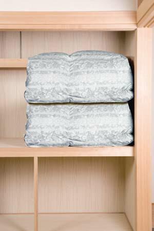 羽毛 布団 圧縮 押入れ 収納 袋 便利