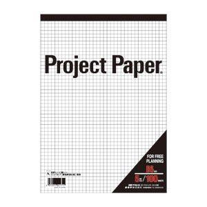 オキナ B5プロジェクト 5ミリ方眼 PPB55S 00009305