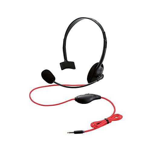 エレコム 4極ヘッドセットマイクロフォン 片耳オーバーヘッド 1.0m PS4用 GM-HSHP25BK
