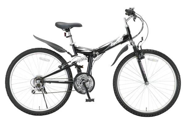 折りたたみマウンテンバイク MTB-2618Rブラック