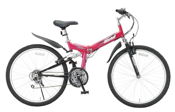 折りたたみマウンテンバイク MTB-2618Rピンク