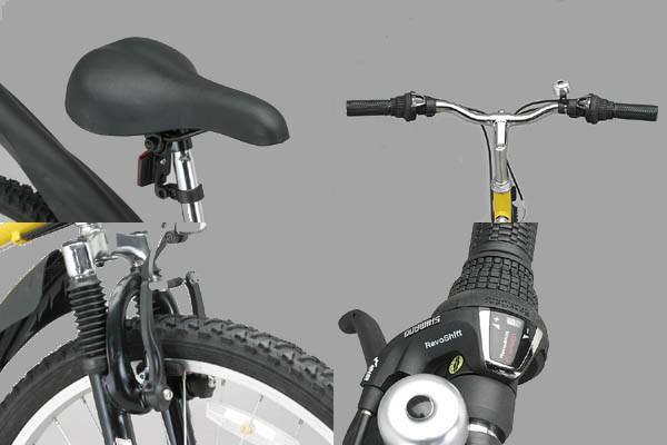 折りたたみマウンテンバイク MTB-2618Rパーツ
