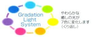 グラデーションライトシステム