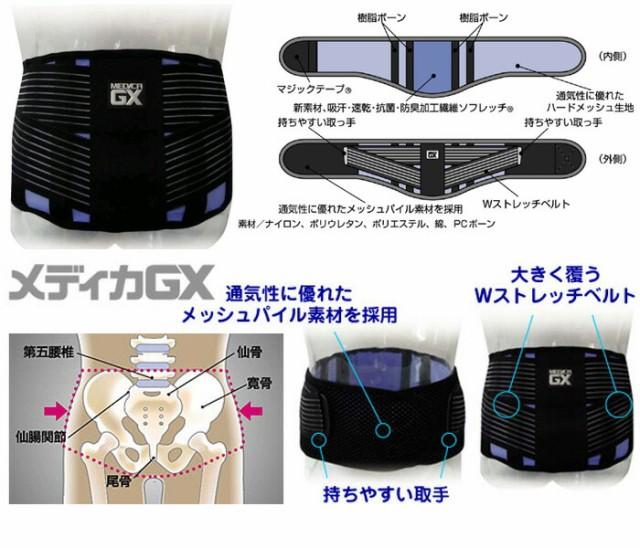 メディカGX 腰用 Sサイズ(W:約65~80cm)MGX-05