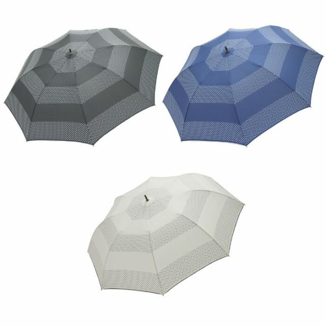 傘 レディース 雨傘 雨具 折りたたみ傘 軽量 ドットボーダー ショートワイド傘 軽くてコンパクト なのに開くと大きい かさ