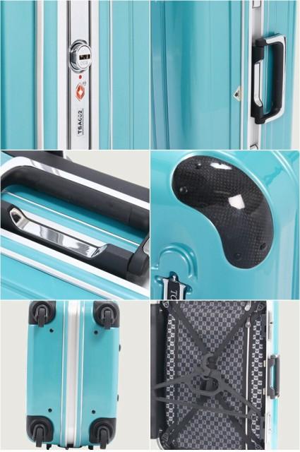 スーツケース キャリーケース A.L.I アジア ラゲージ TORERO トレロ ADS-2002 71L 4~7泊 マットシリーズ ハードキャリー TSAロック搭載