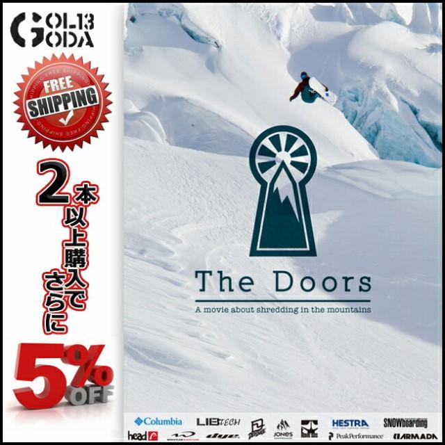 14-15 DVD SNOW HEART FILMS THE DOORS  (htbs0173) ハートフィルム SNOWBOARD スノーボード スキー バックカントリー