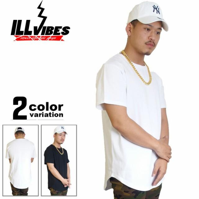 ILL VIBES ロング丈 tシャツ 半袖 無地 厚手 メンズ B系 ファッション ストリート系 ヒップホップの通販はWowma!(ワウマ) -  HIPHOP DOPE|商品ロットナンバー: ...