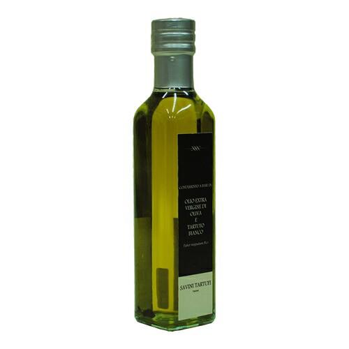 白トリュフ入りエクストラバージン オリーブオイル  250ml(サヴィーニ タルトゥーフィ) Olio extra vergine di oliva e tartufo bianco