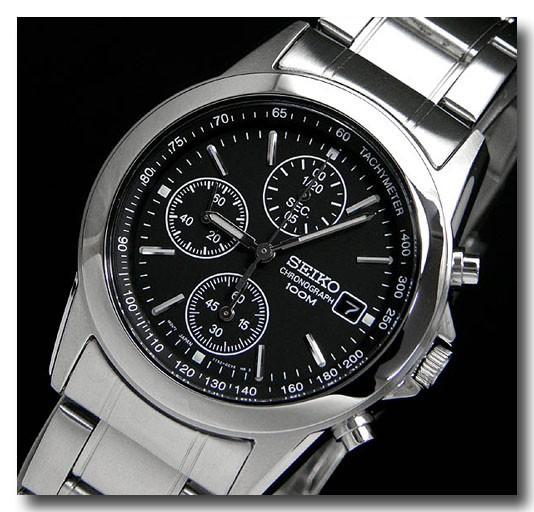 SEIKO メンズ腕時計セイコー クロノグラフ  SND309PC画像1