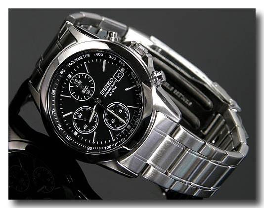 SEIKO メンズ腕時計セイコー クロノグラフ  SND309PC画像2