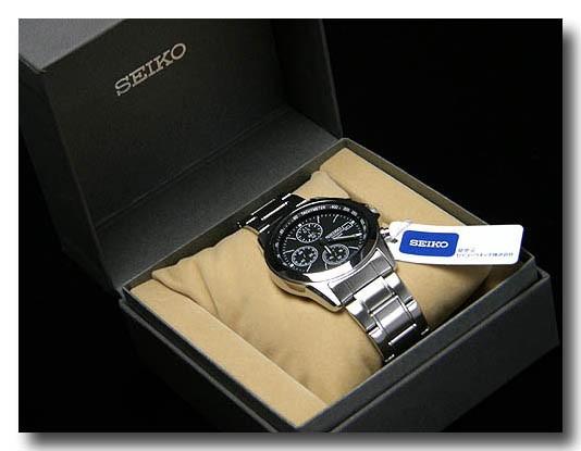 SEIKO メンズ腕時計セイコー クロノグラフ  SND309PC画像4