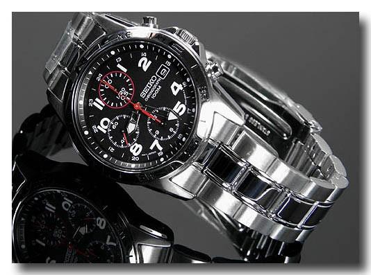 SEIKO 腕時計セイコー クロノグラフ メンズ SND375P画像2
