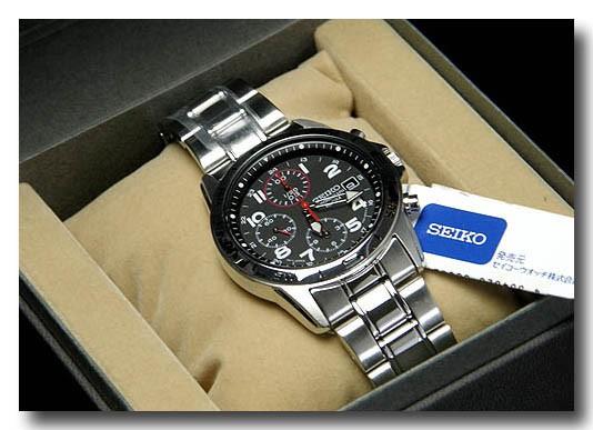 SEIKO 腕時計セイコー クロノグラフ メンズ SND375P画像3