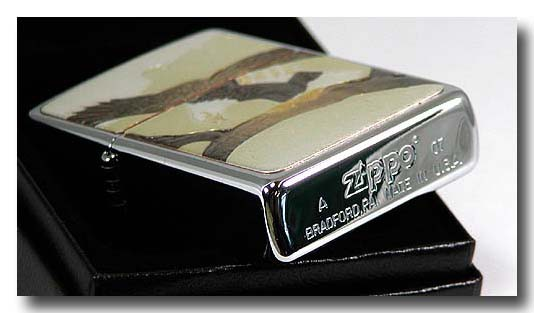 【ZIPPO】和板ジッポー・鷹画像2