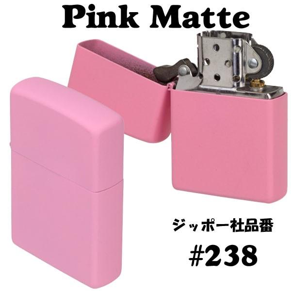 zippo(ジッポーライター)Pink Matte ピンクカラーマットジッポー #238 画像4