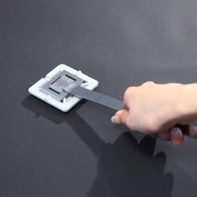 耐震ストッパー/フットを取外す工具 QL-54~60/66/67対応 回転剥離工具 サンワサプライ QL-OP2