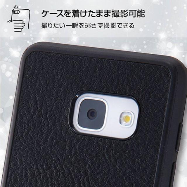 Galaxy Feel SC-04J ギャラクシーフィール ケース カバー オープンレザーケース スマート ダークネイビー レイアウト RT-GAJ4LC12/DN