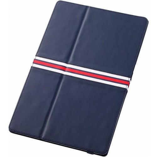 レイアウト Xperia Tablet Z SO-03E用カバー フラップタイプレザージャケット(合皮) ネイビー RT-SO03ELC4/N