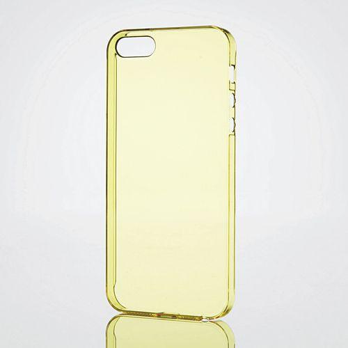 iPhoneSE/5s/5 アイフォンSE/5s/5 ケース/カバー 極みシェルカバー イエロー エレコム PS-A12PVKYL