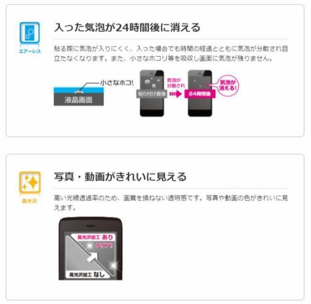 Xperia XZ2 Compact SO-05K 用 液晶保護フィルム 衝撃吸収 防指紋 光沢 エレコム PD-XZ2CFLFPG